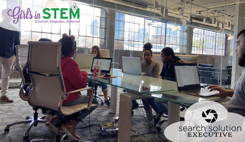 Search Solution Executive Supports Girls in STEM