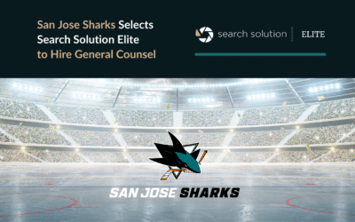 San Jose Sharks Select One of Nation's Top Executive Recruiters to Hire General Counsel