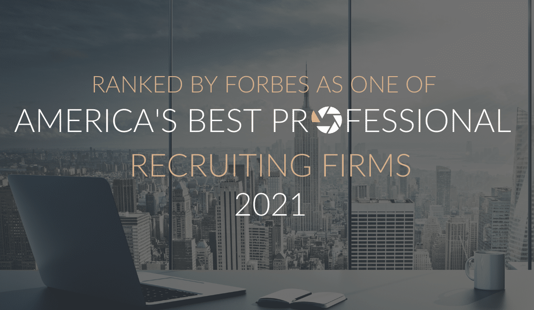 Forbes Named Search Solution Group in America's Best Professional Recruiting Firms for 2021